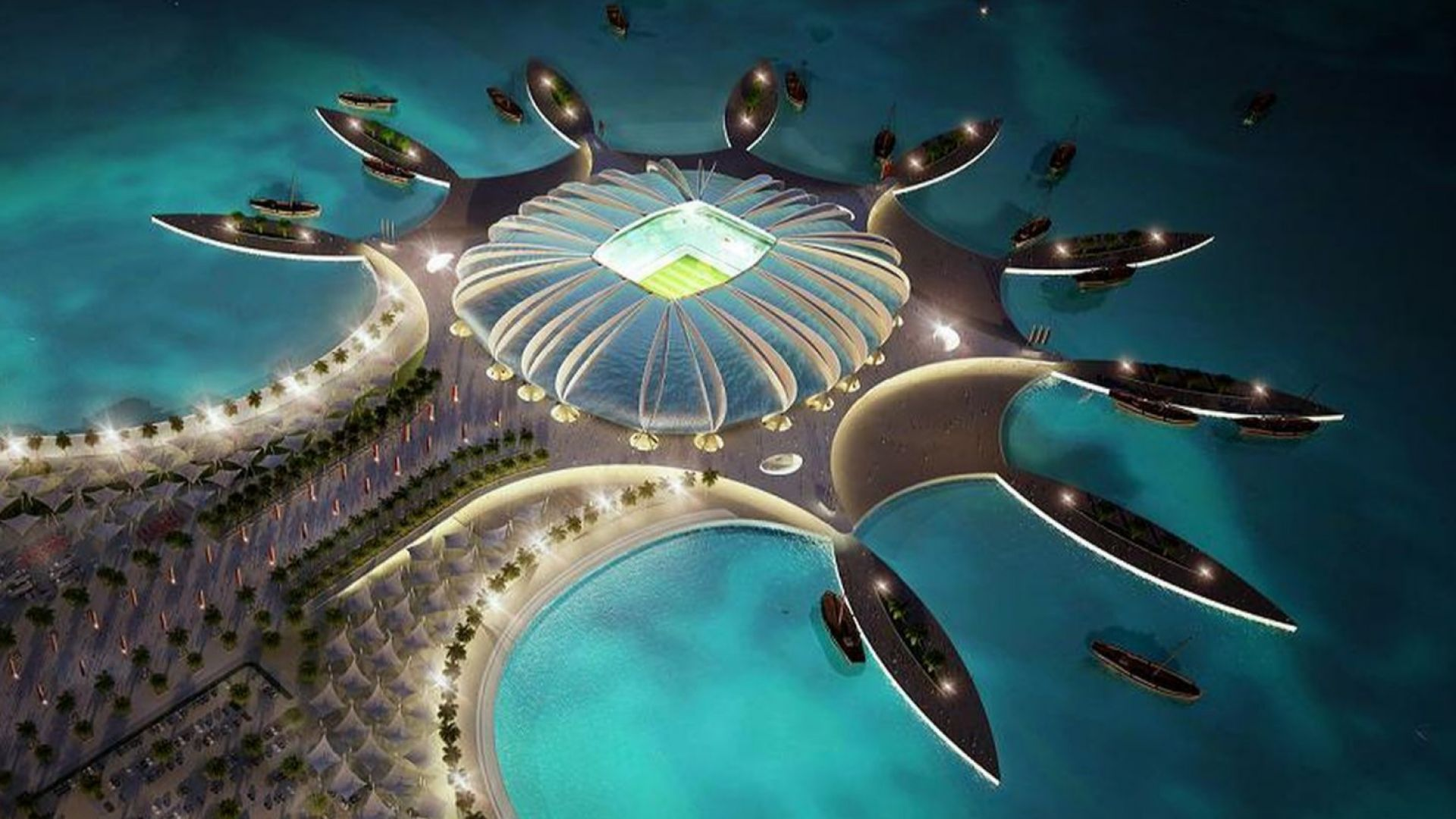 Катар продължава с изненадите за Мондиала - хотелите ще са в морето
