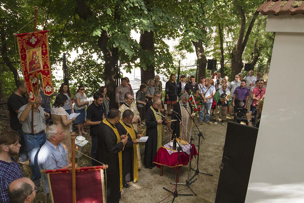 Стотици граждани участваха в шествието в памет на жертвите на Старозагорското клане