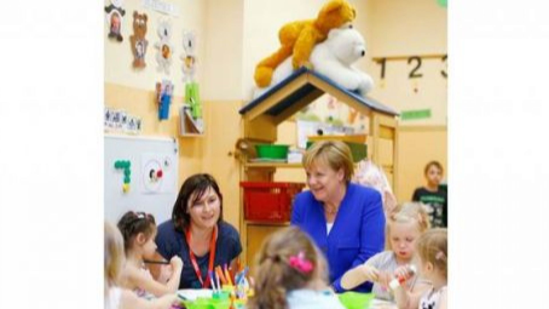 Палави мечета злепоставиха Меркел