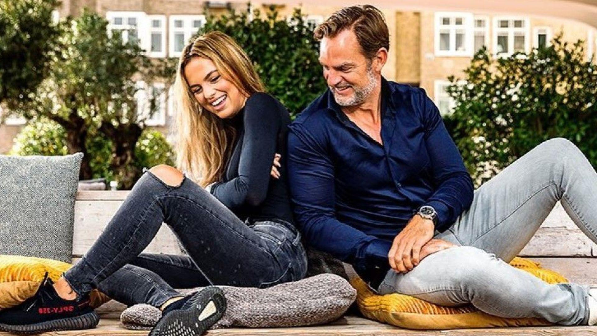 Вижте красивата дъщеря на бившия холандски национал Роналд де Бур