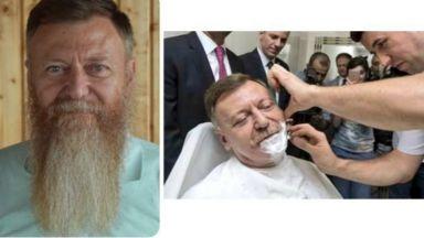 Турски депутат си обръсна брадата, пусната след опита за преврат