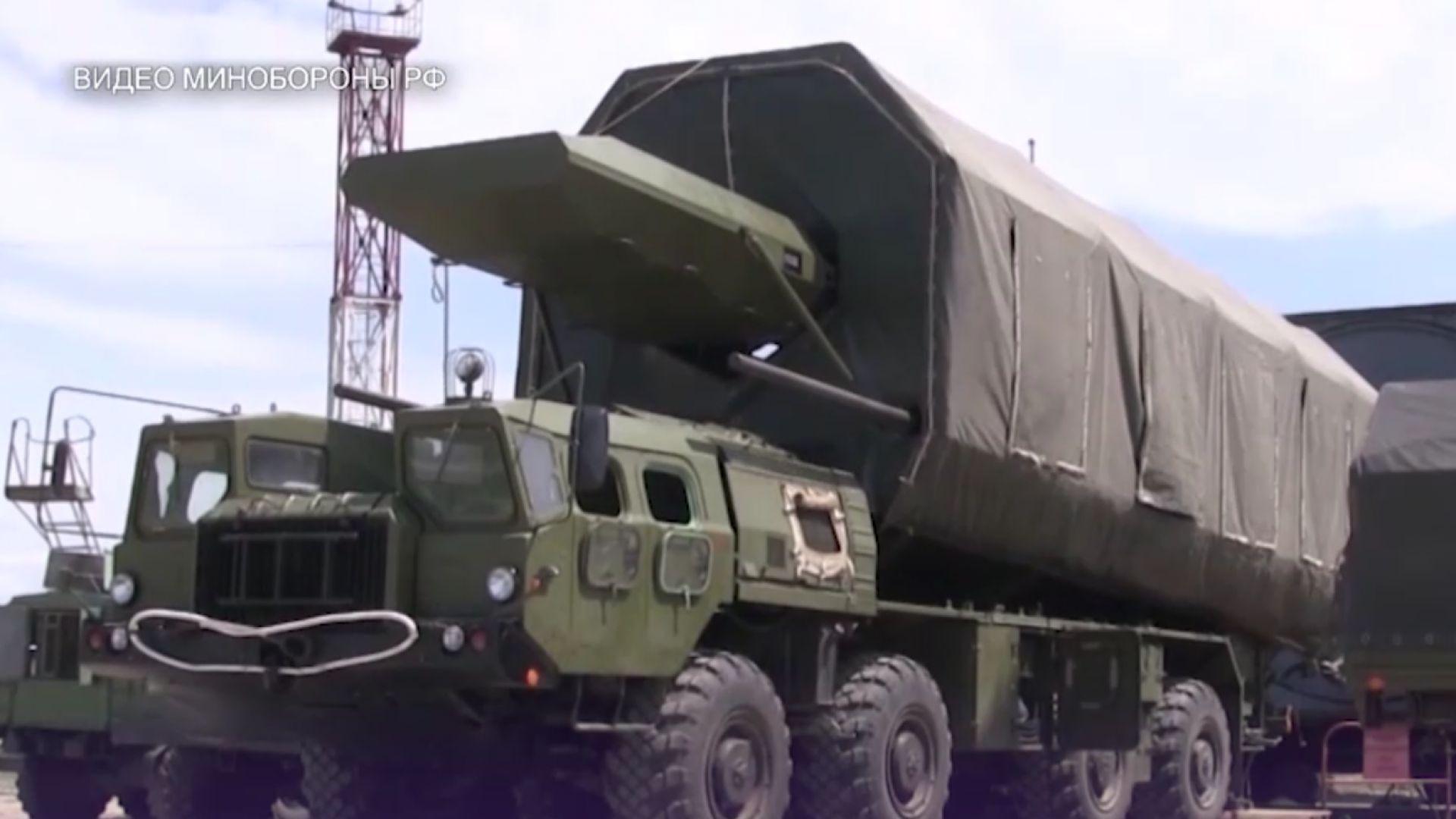 """Първи кадри с руската ракетна система """"Авангард"""""""