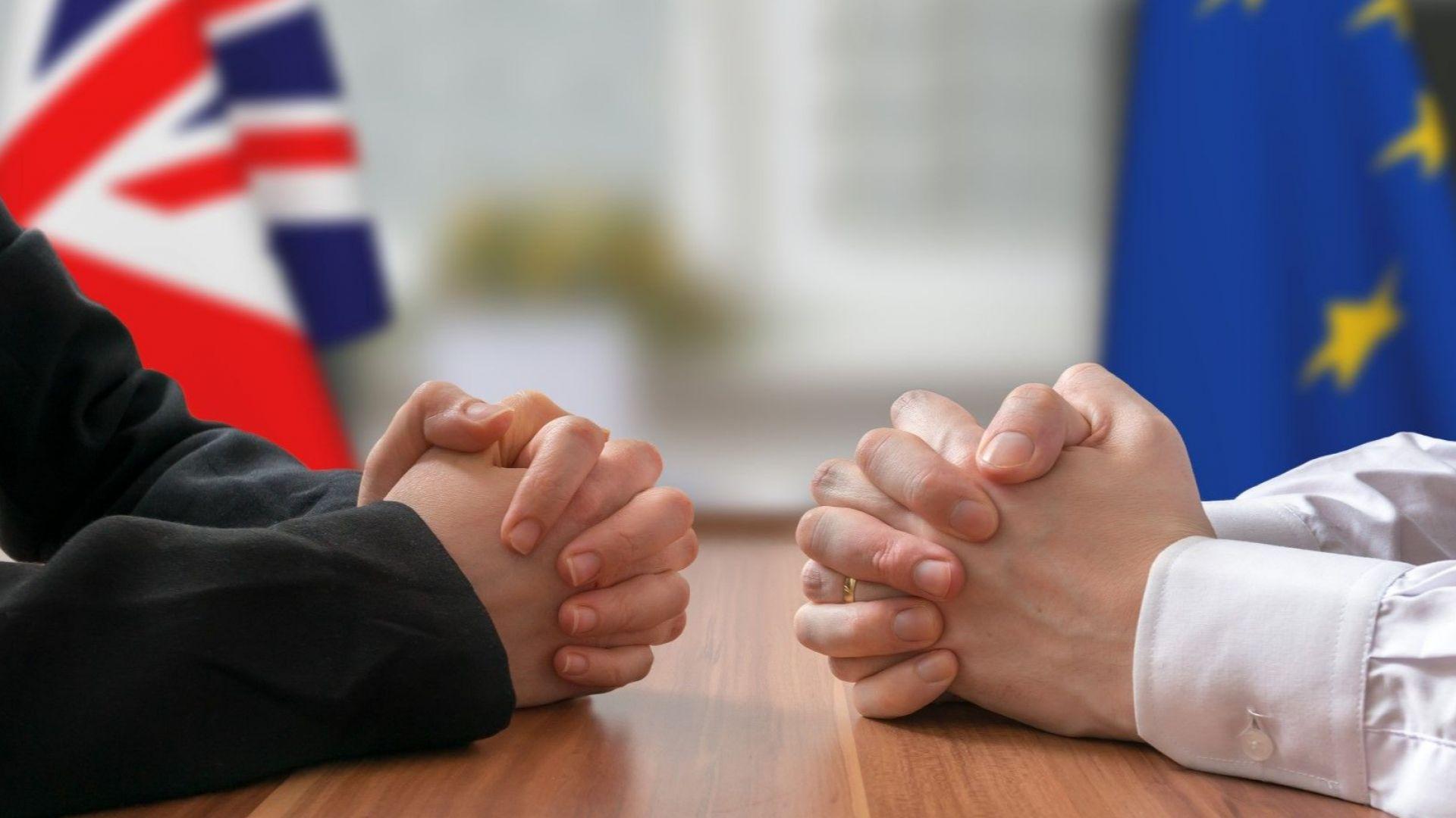Брюксел и Лондон са съгласували 80% от условията за Брекзит