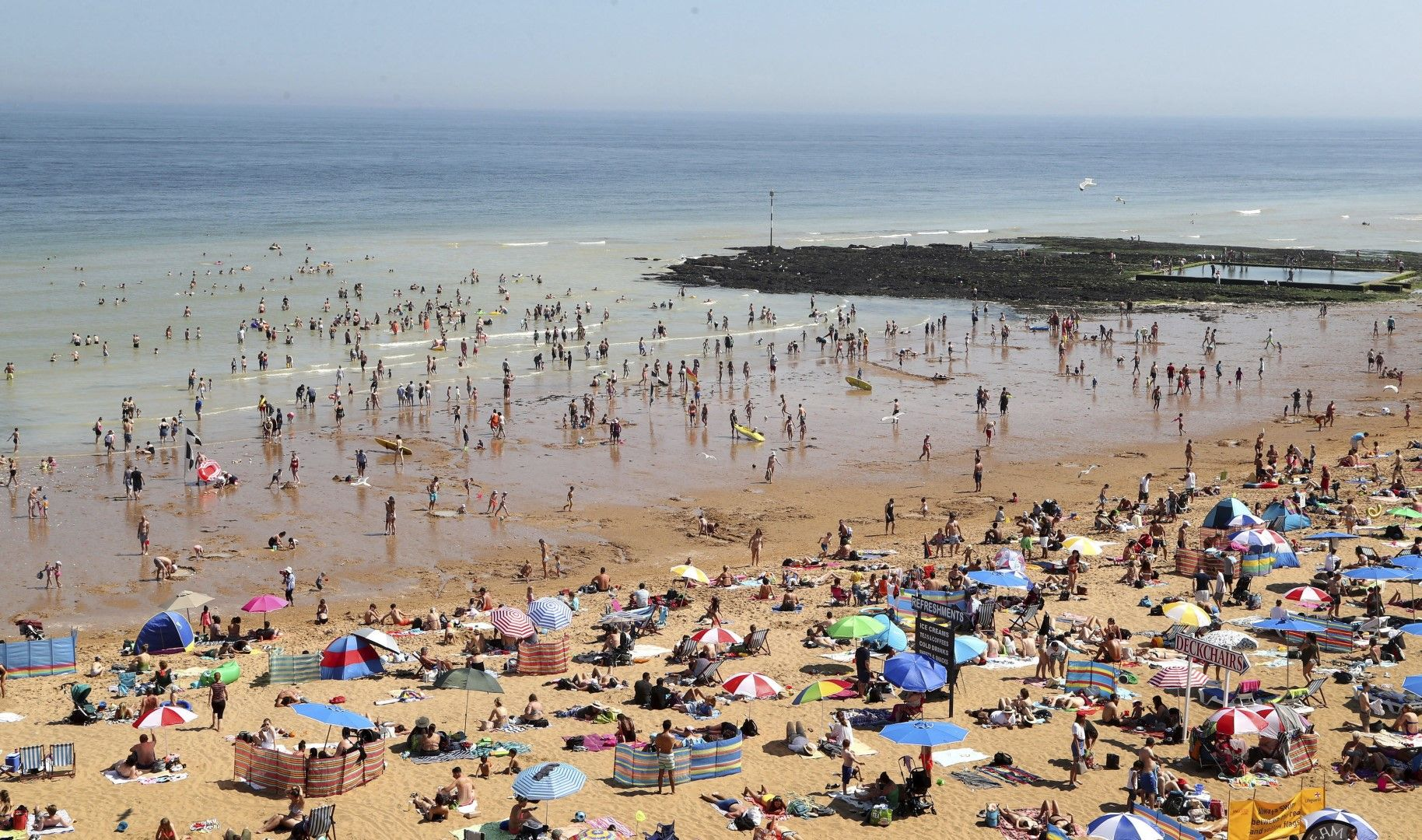 Плаж в кент, Великобритания