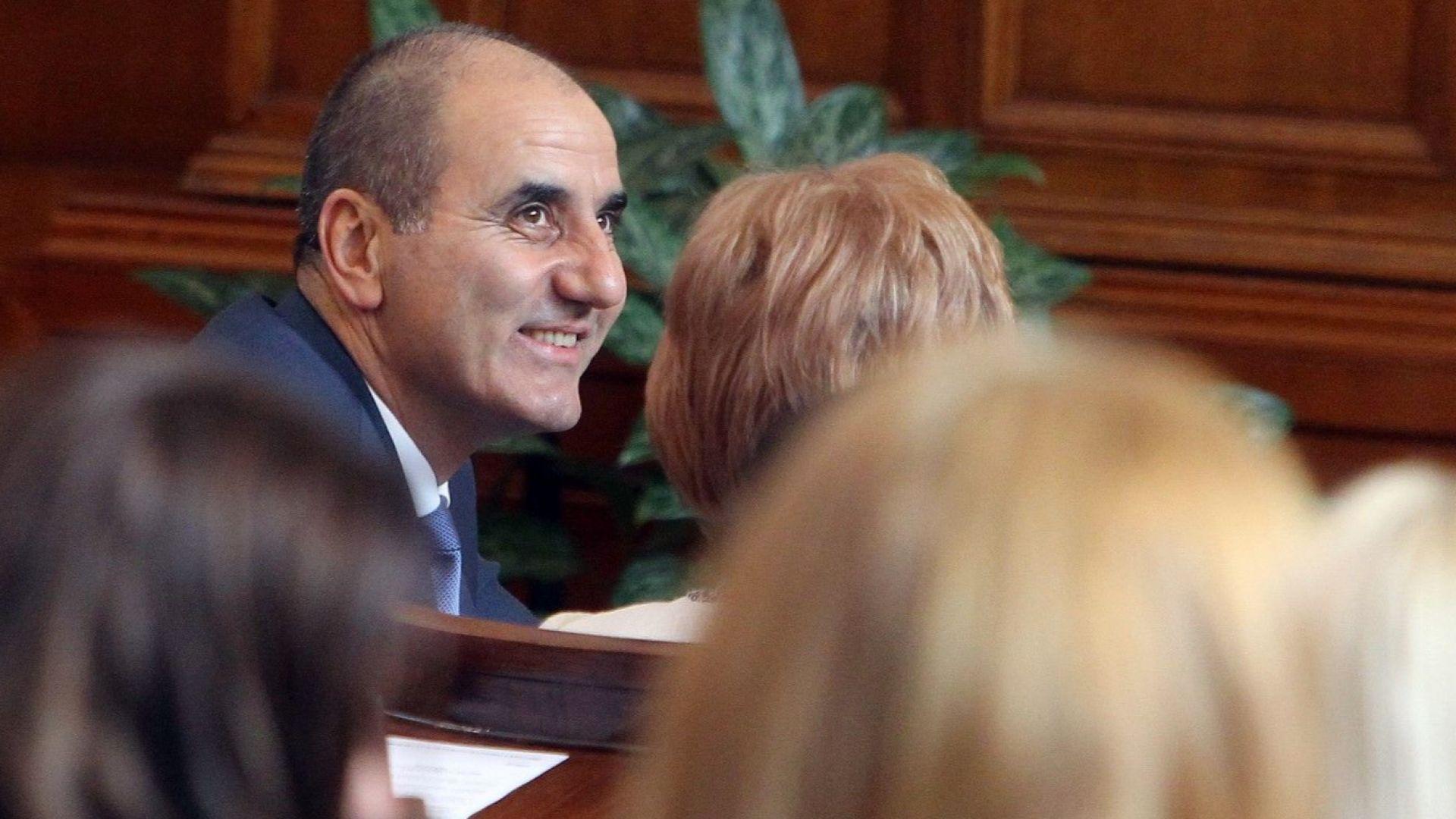Цветанов: Въпрос на няколко дни е президентът да подпише указа