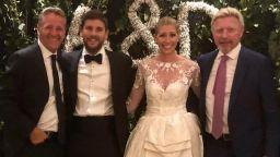 Треньорът на Гришо се ожени (снимка)