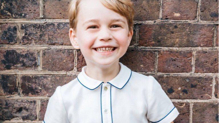 Пуснаха нова снимка на принц Джордж по случай 5-ата му годишнина