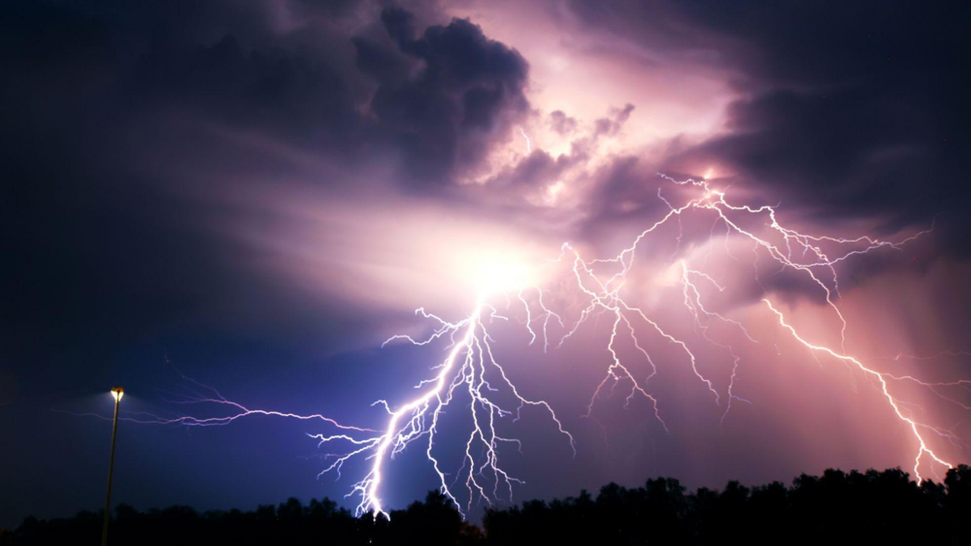 Гръмотевични бури и градушки цяла седмица