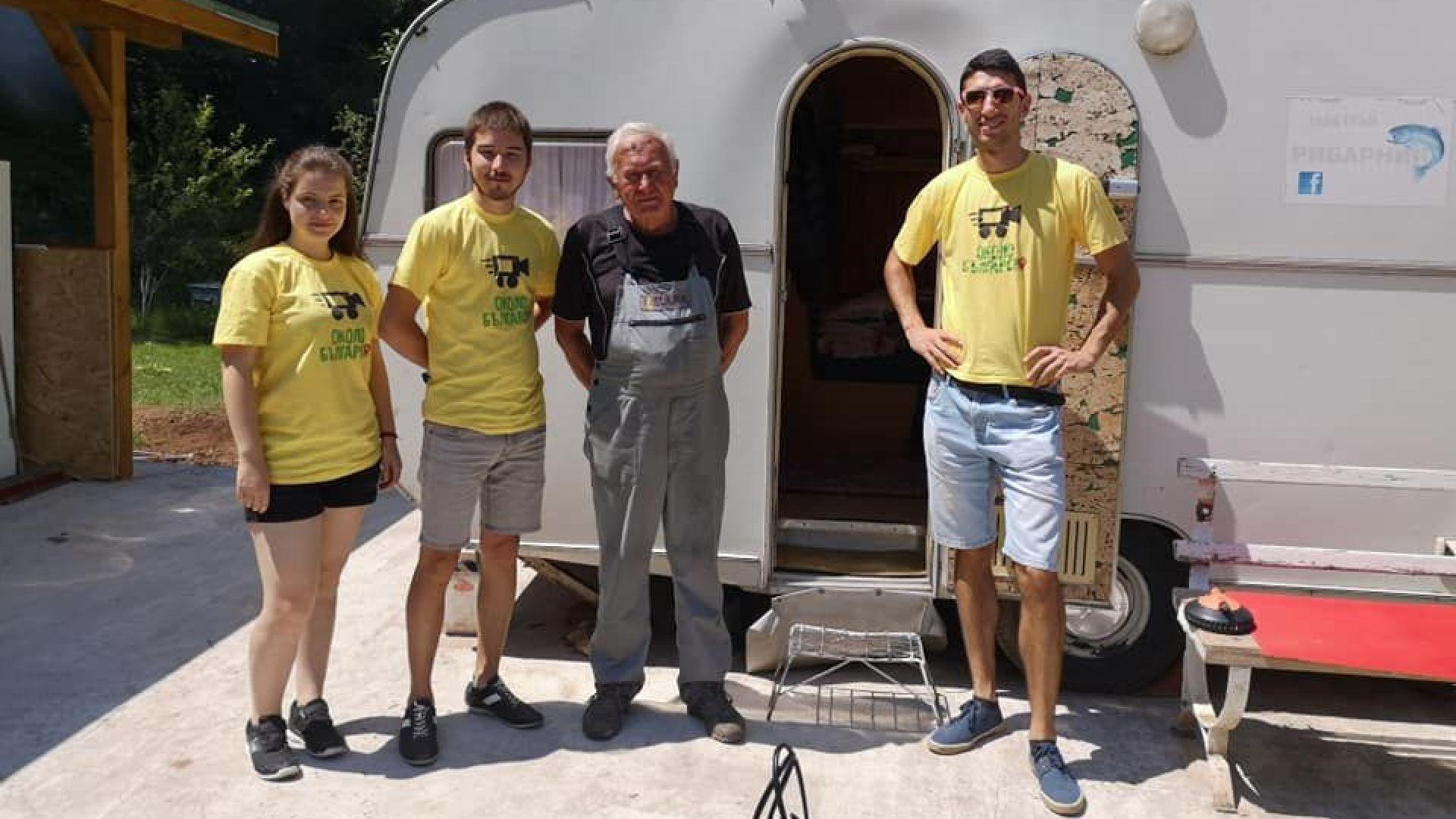 3-ма студенти обикалят 100 града в България, за да покажат надеждата