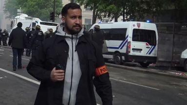 Задържаха под стража уволнения сътрудник на френския президент