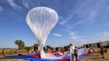Loon на Alphabet постави нов рекорд за най-дълъг стратосферен полет