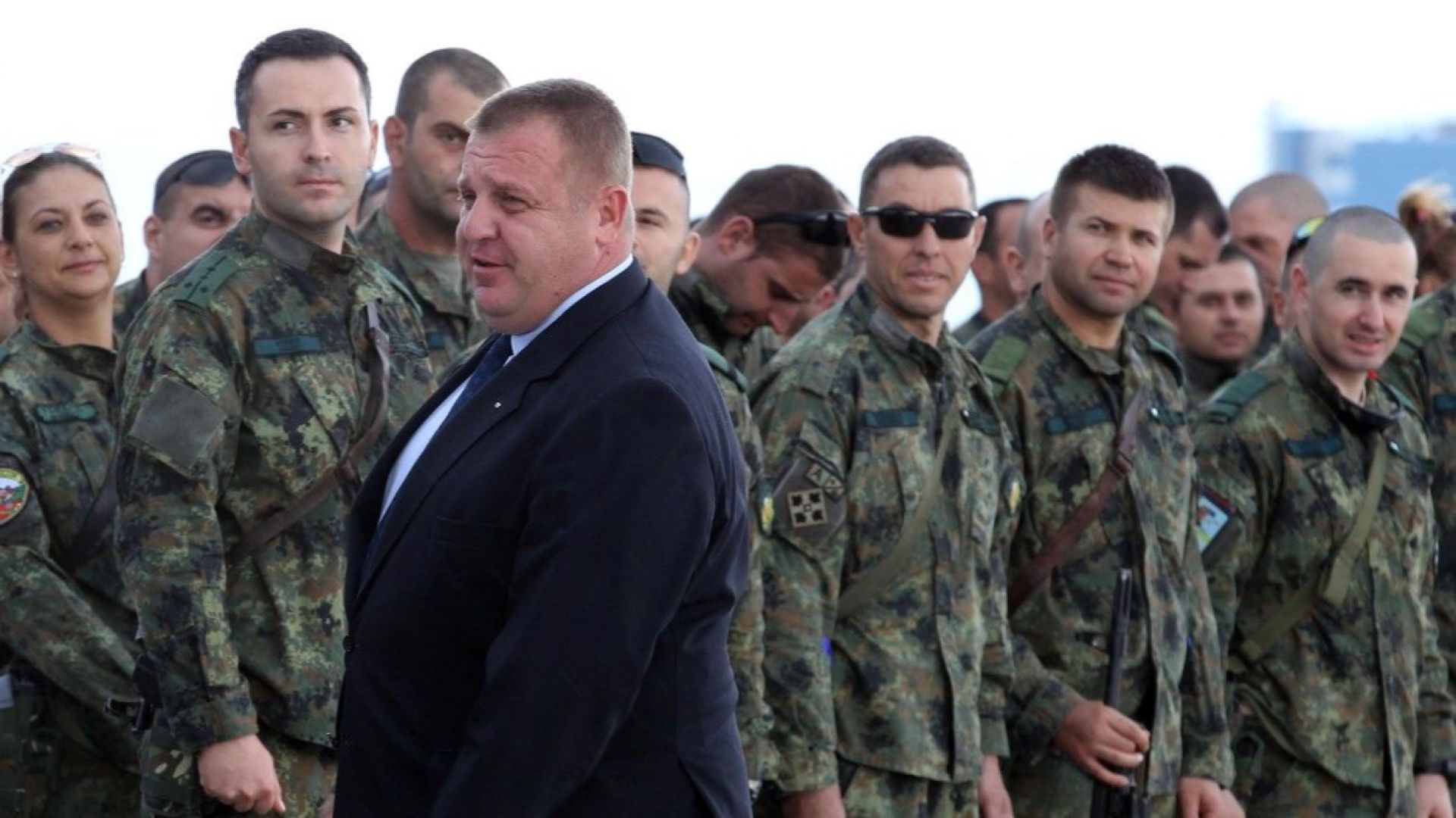 158 военни от 35-ия контингент се върнаха от мисия в Афганистан