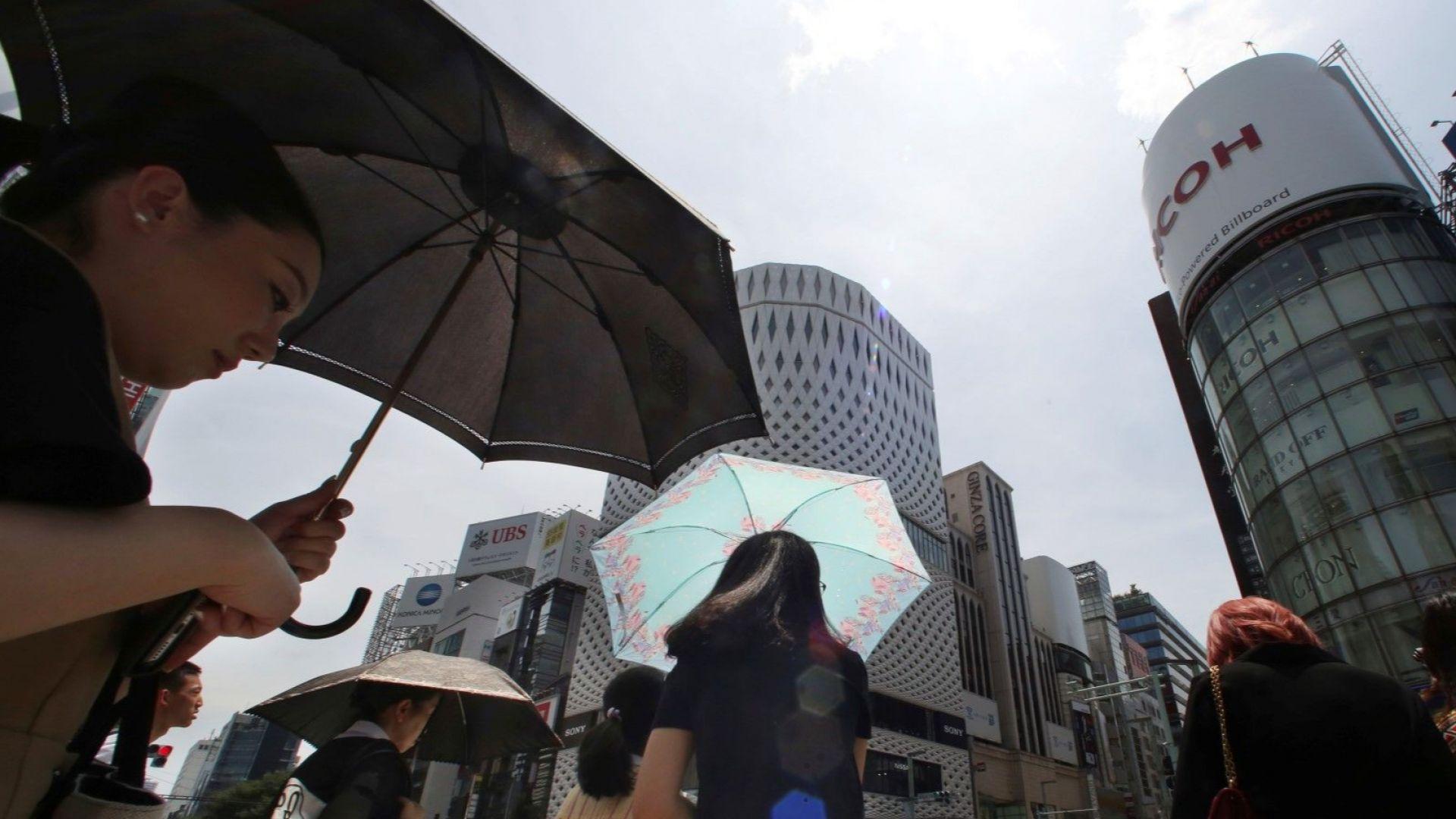 Смъртоносни жеги в Япония