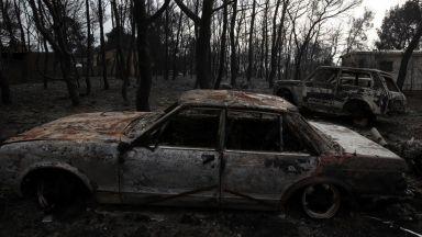 Българи се спасили от огъня в Гърция като влезли в морето