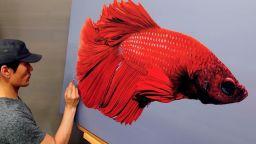 Корейски художник е най-скъпо платеният хиперреалист в света