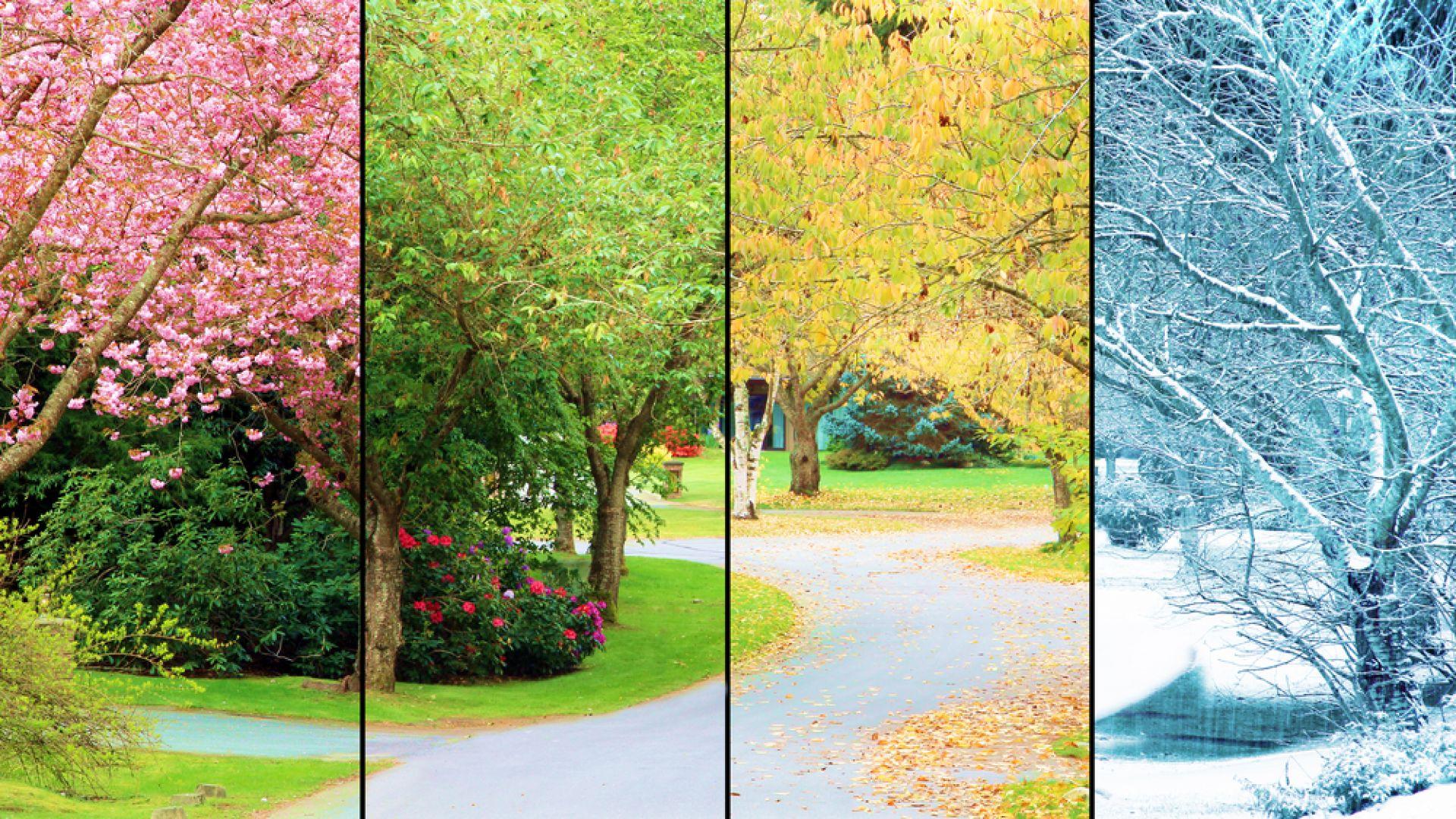 Човекът променя годишните сезони