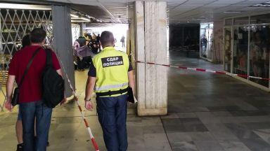 Стрелба в столичен подлез, има тежко ранен (обновена+снимки)