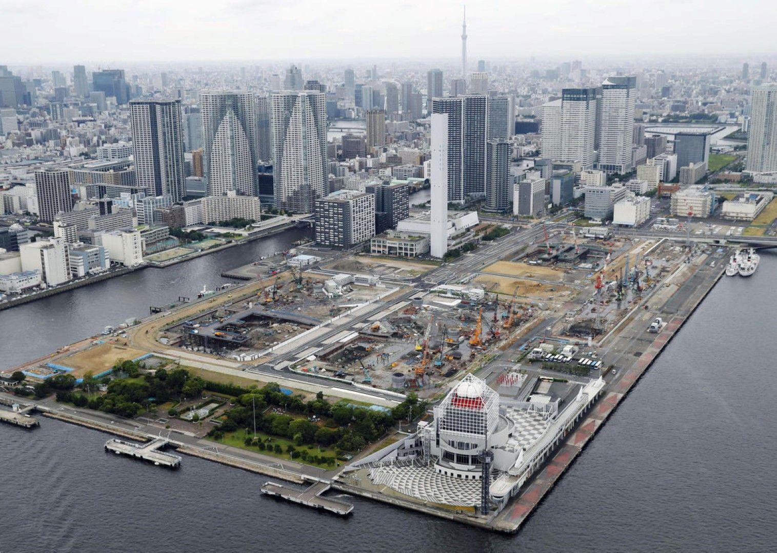 Харуми - мястото, където в момента се строи олимпийското село.