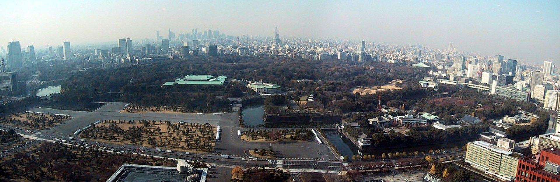 Центърът на Токио се готви за изумителна Олимпиада.