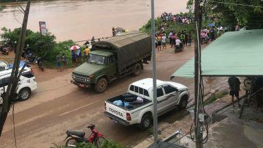 Срутена язовирна стена предизвика бедствие в Лаос, стихията помете няколко селища