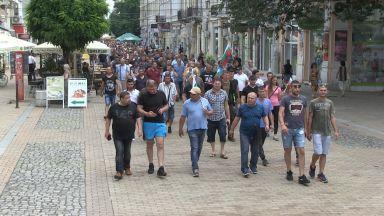 Стотици търсачи на трюфели протестираха в Русе