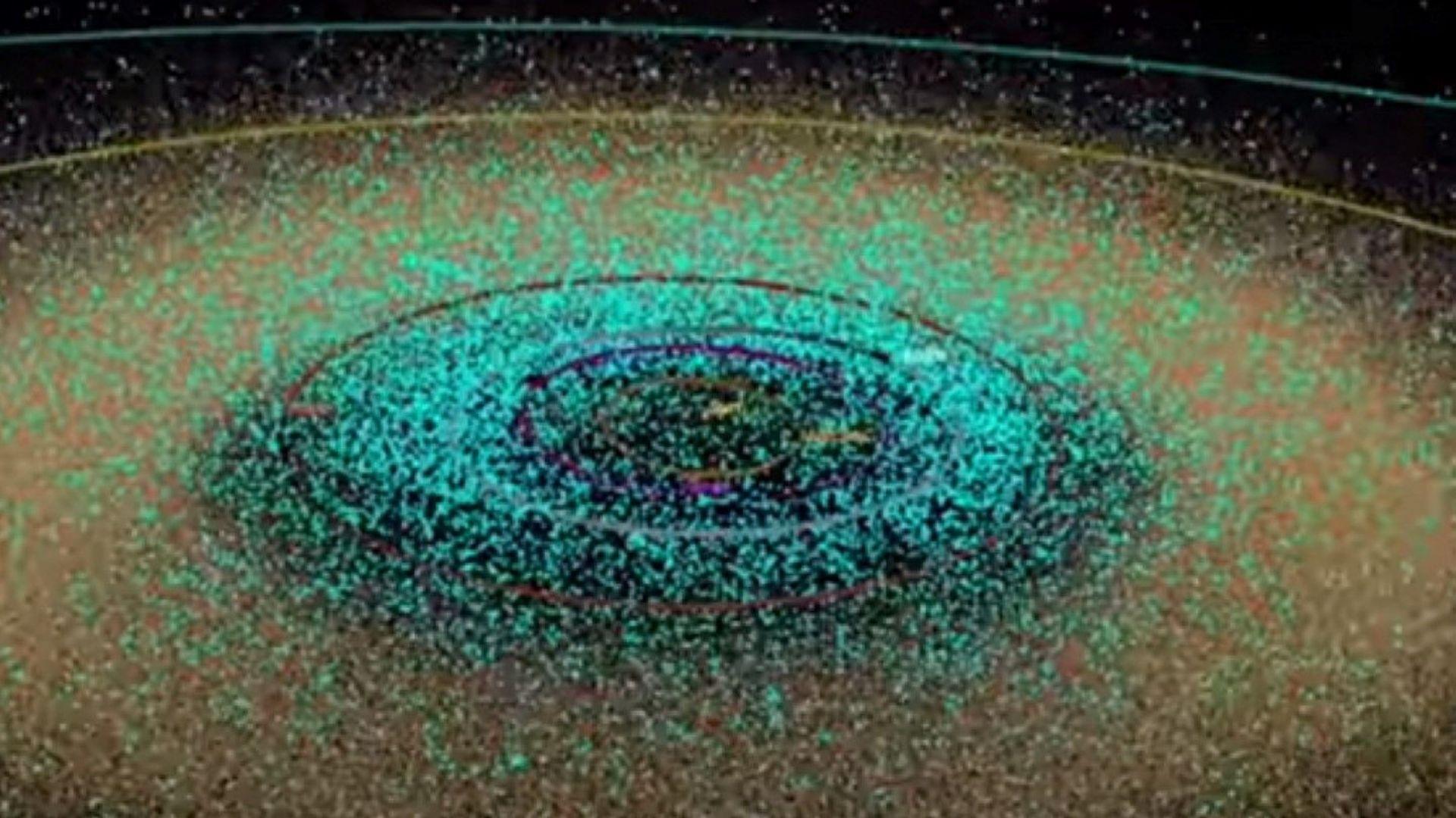 НАСА показа астероидите в  Слънчевата система (видео)