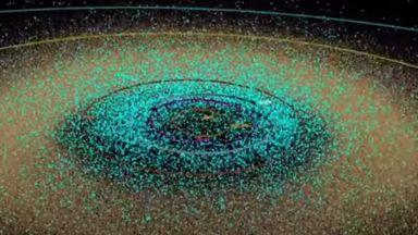 Всички познати астероиди на човечеството (видео)