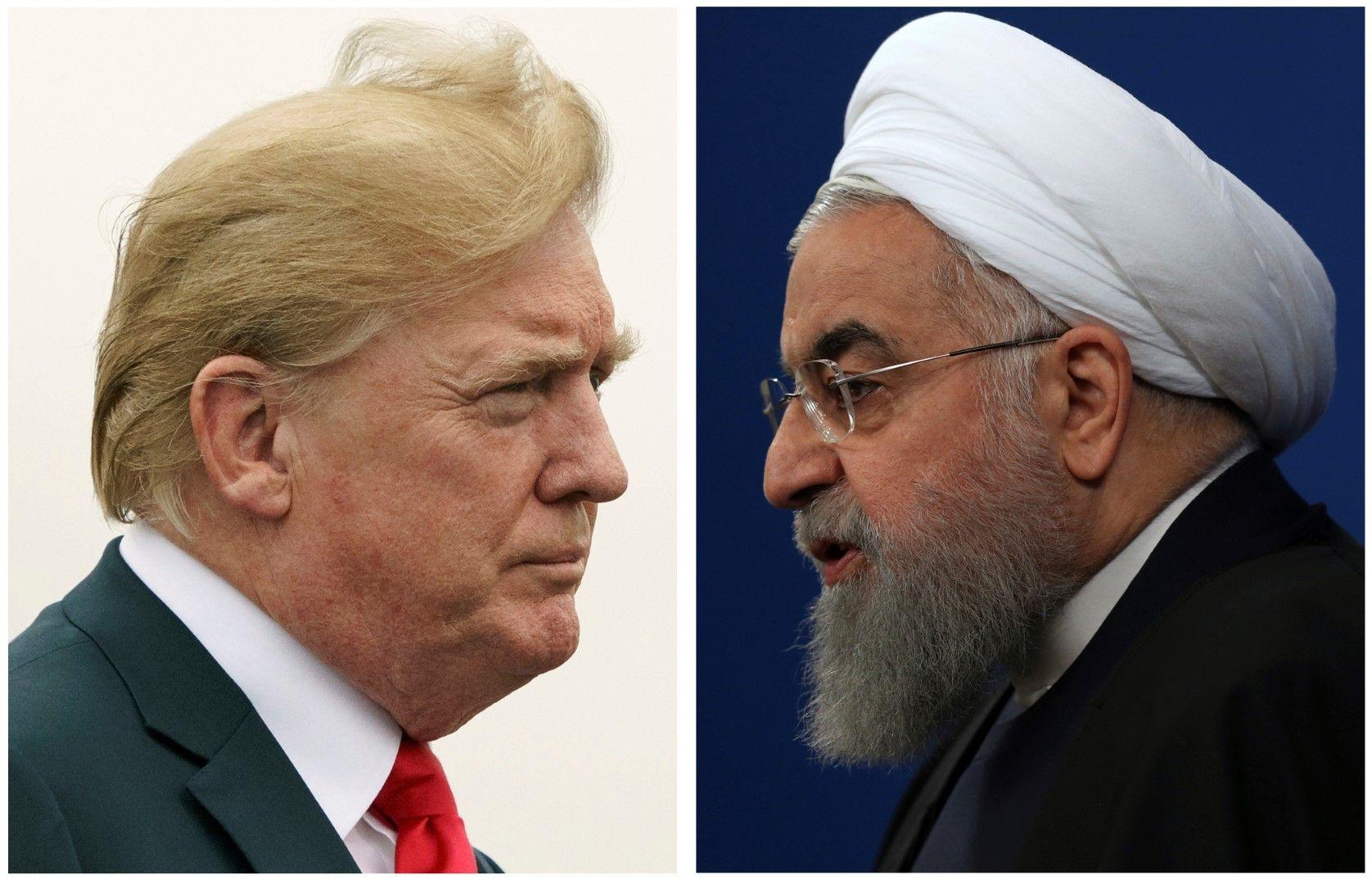 Кой е по-опасният в заплахите си: Тръмп или Рохани?