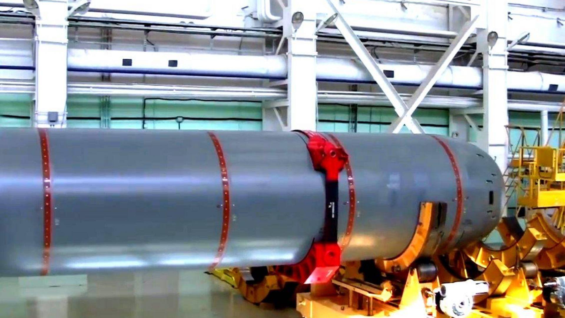 Ядреният руски дрон ще се движи с 200 км/ч