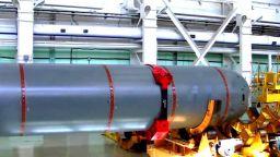 Видео за пръв път показва руското роботизирано ядрено торпедо