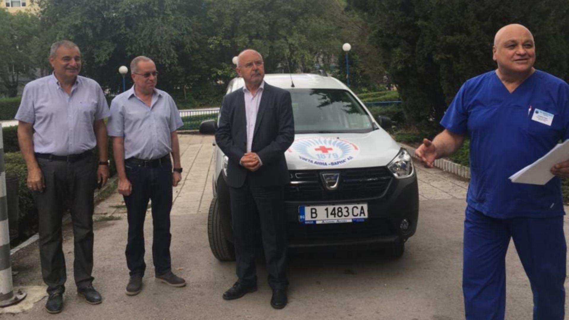 """Специализиран автомобил получи МБАЛ """"Света Анна"""" във Варна"""