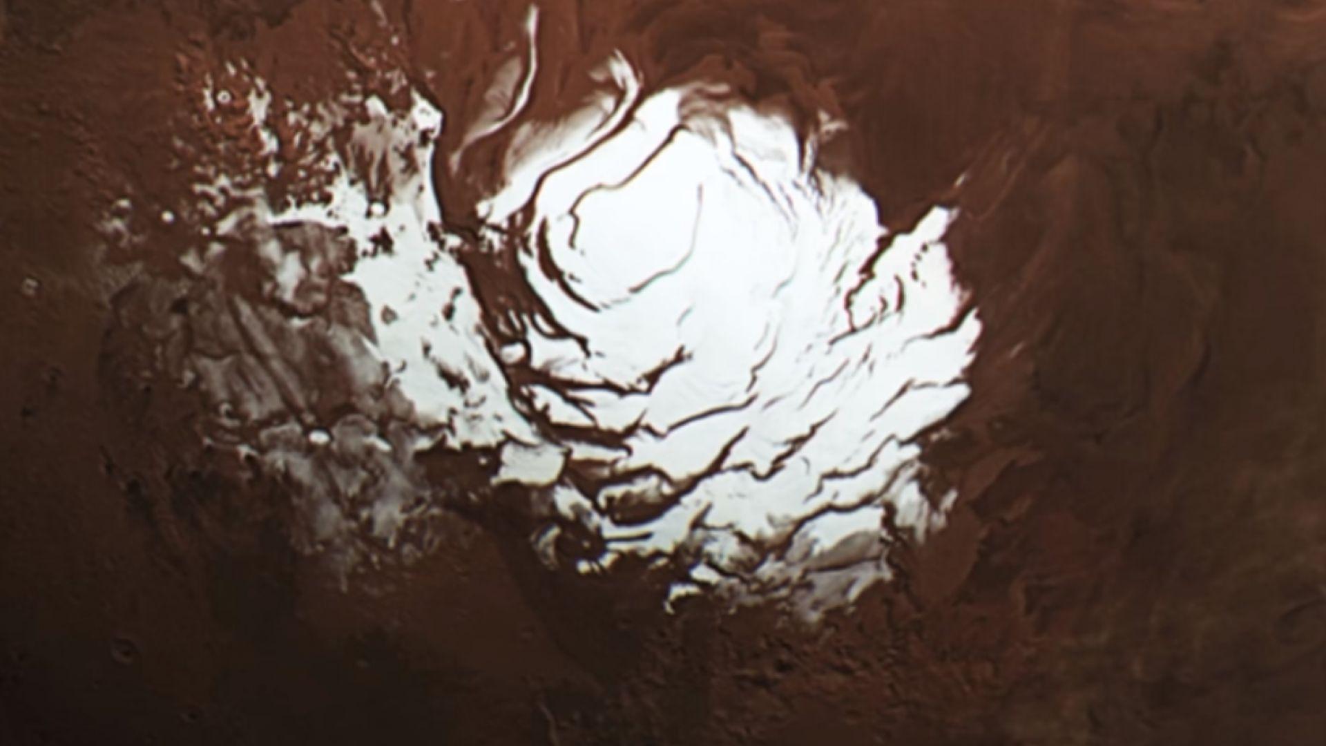За първи път: Откриха голямо подземно езеро на Марс (видео)