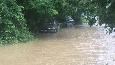 Реки преляха в Пирдоп, обявиха бедствено положение и там
