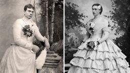 Странни фотографии от Викторианската епоха - мъже в женски дрехи и общи снимки с...мъртъвци