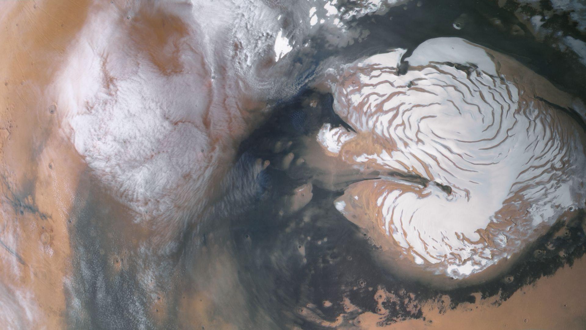 Южният полюс на Марс