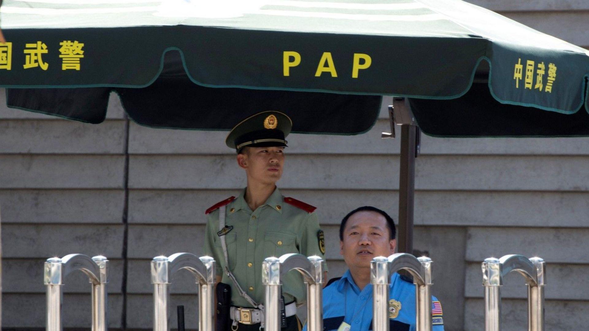 Мъжът, предизвикал взрива в Пекин, вероятно е получил отказ за виза от САЩ