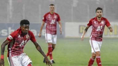 ЦСКА започна годината с реми срещу германци