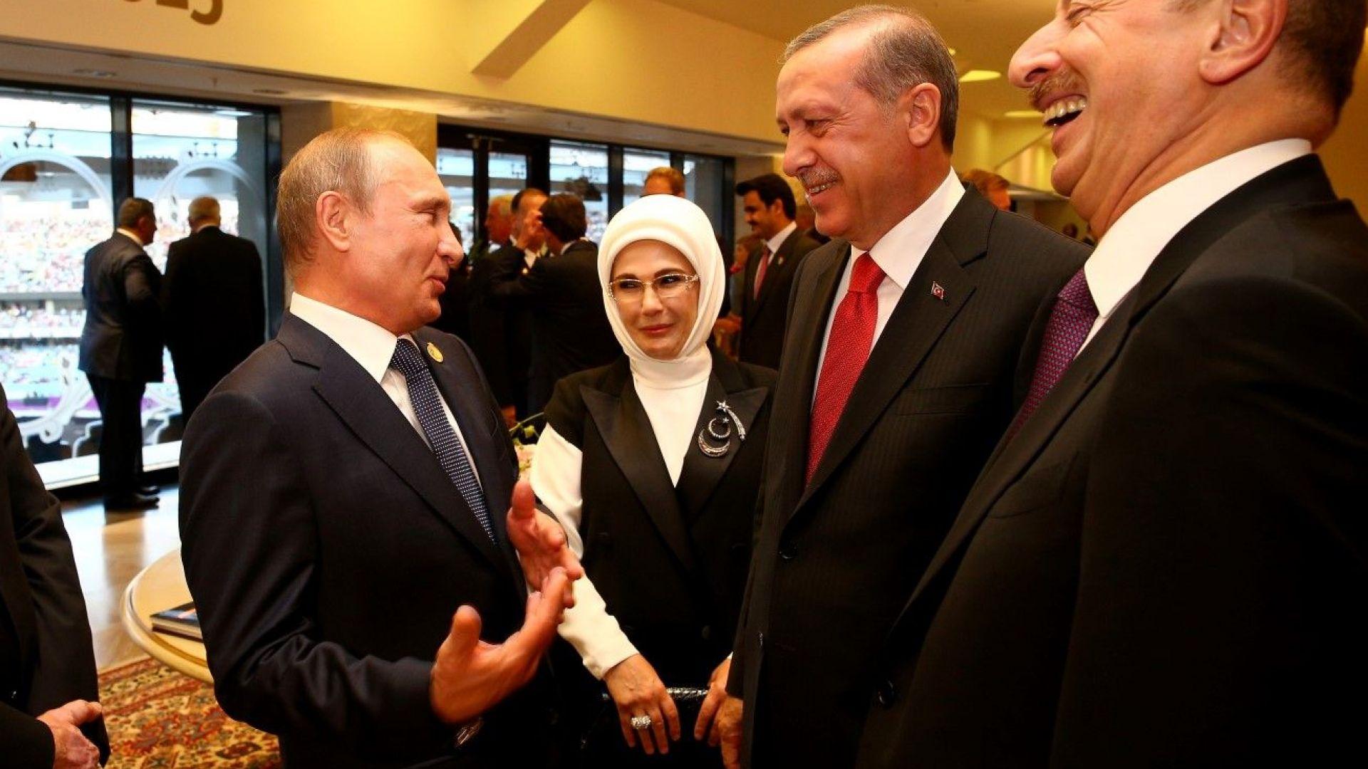 Шеги и закачки след закрита среща на Путин и Ердоган