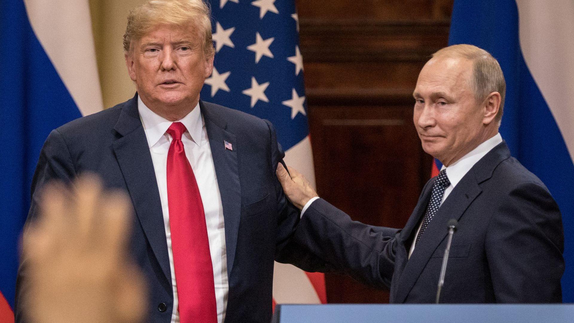 Politico: Путин е дал на Тръмп предложения за контрол над оръжията