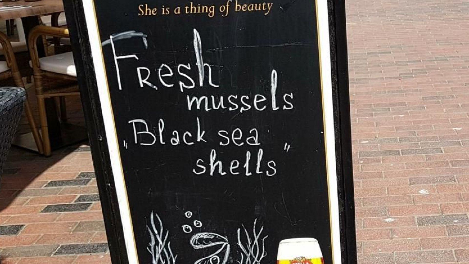 По морето пропищяха от солени цени в заведенията