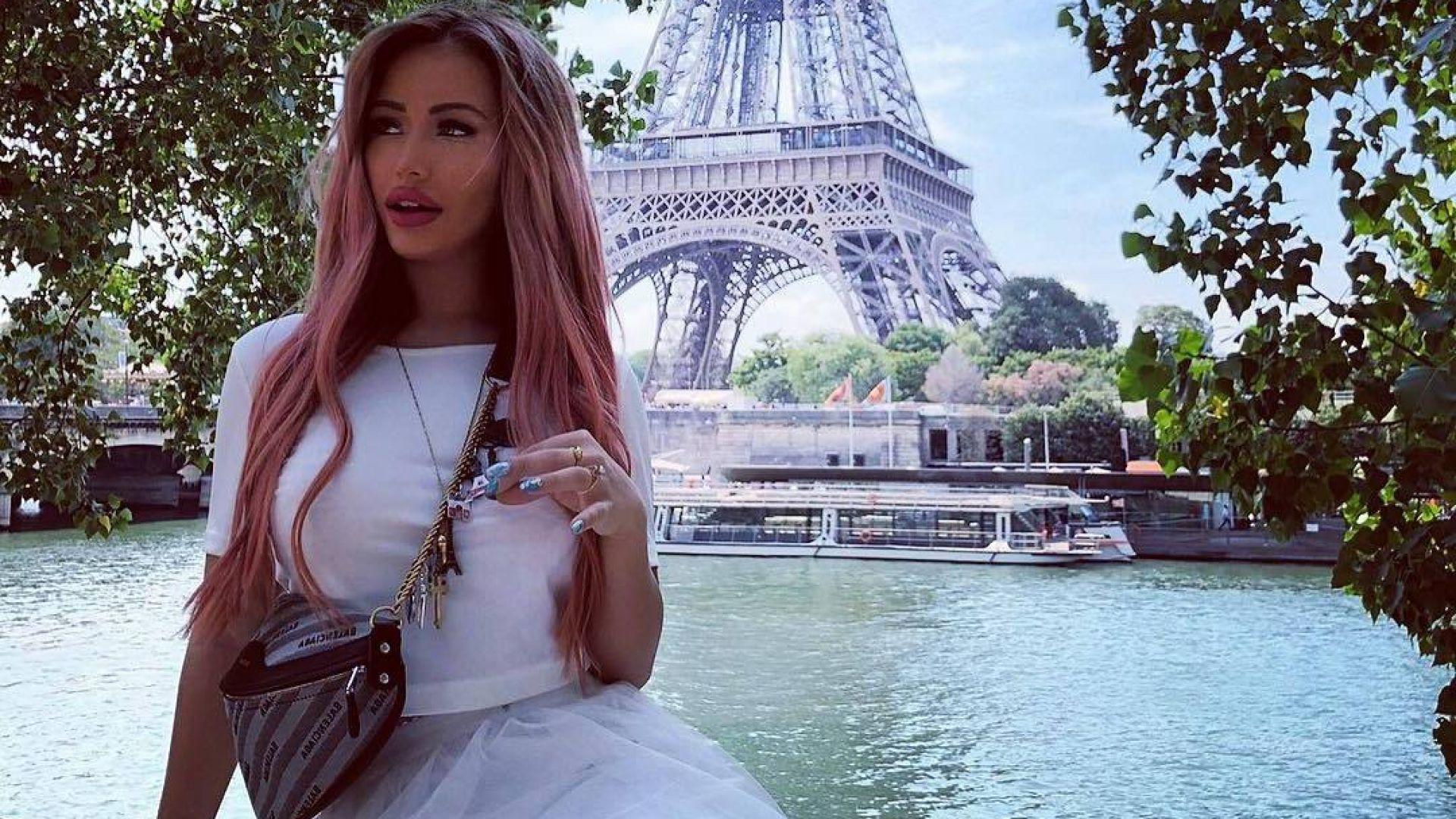 """Дейли мейл"": Арестуваха Гери-Никол в Париж (видео)"