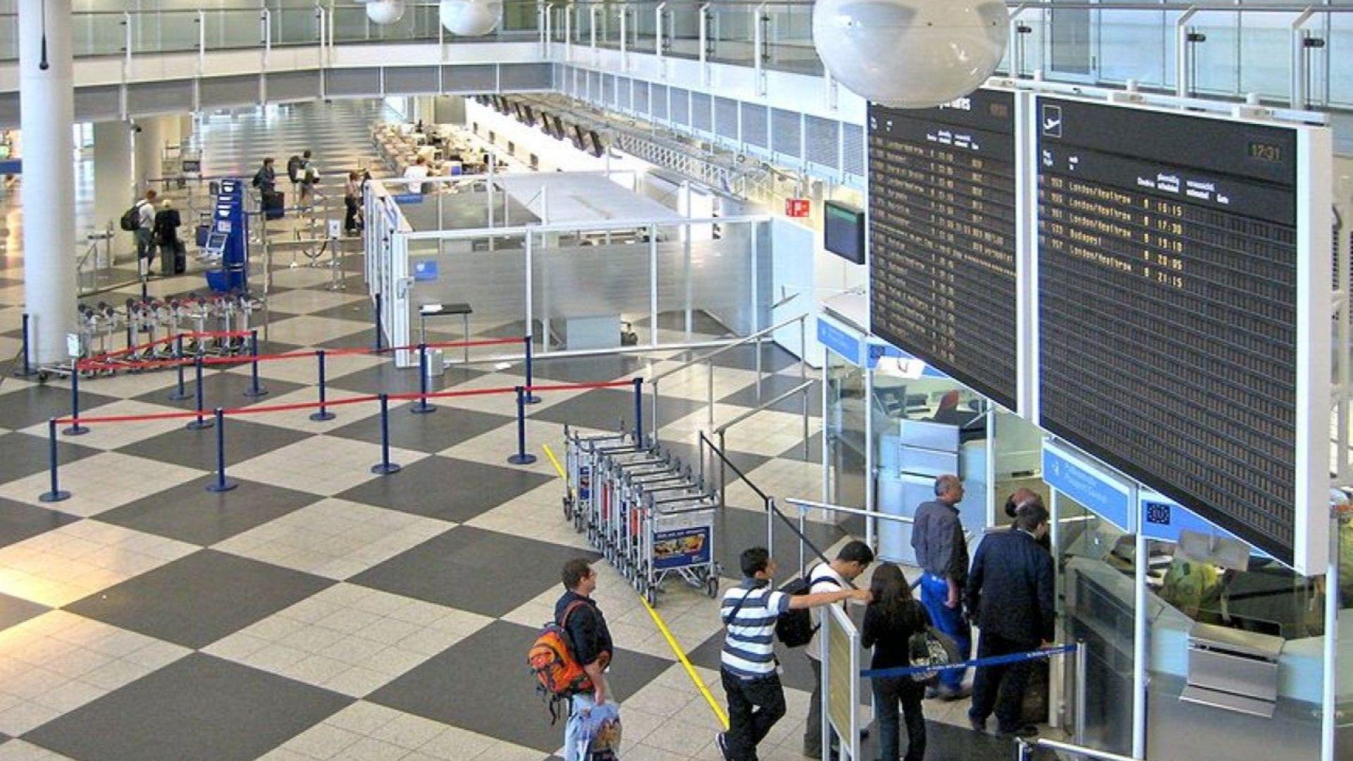Затворен бе един от терминалите  на летището в Мюнхен