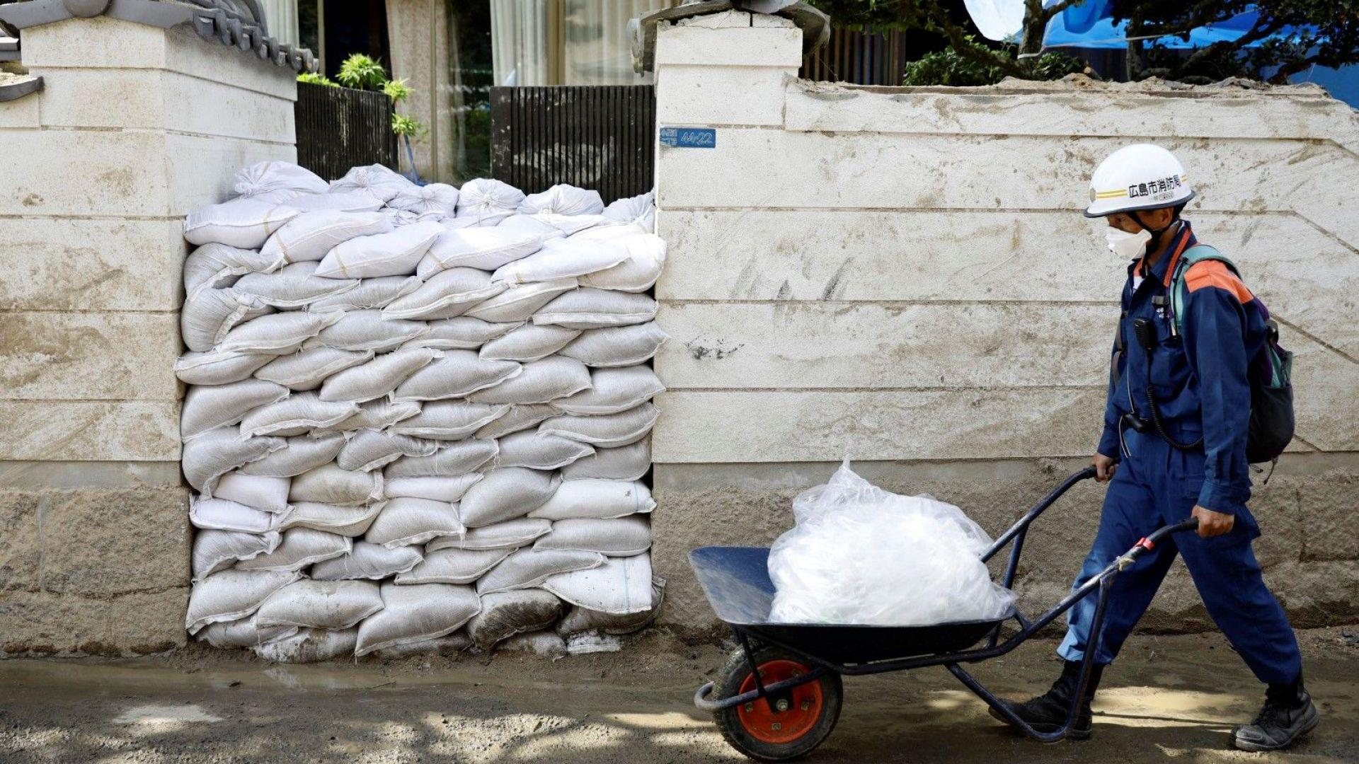 Над 20 души пострадаха при преминаването на тайфуна Джонгдари в Япония