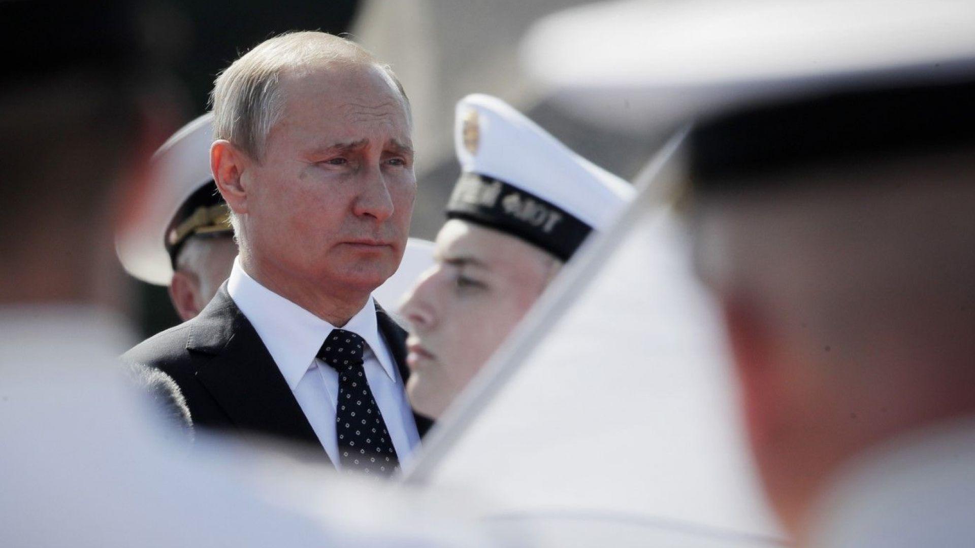 Путин обеща 26 нови бойни кораба за руския флот тази година