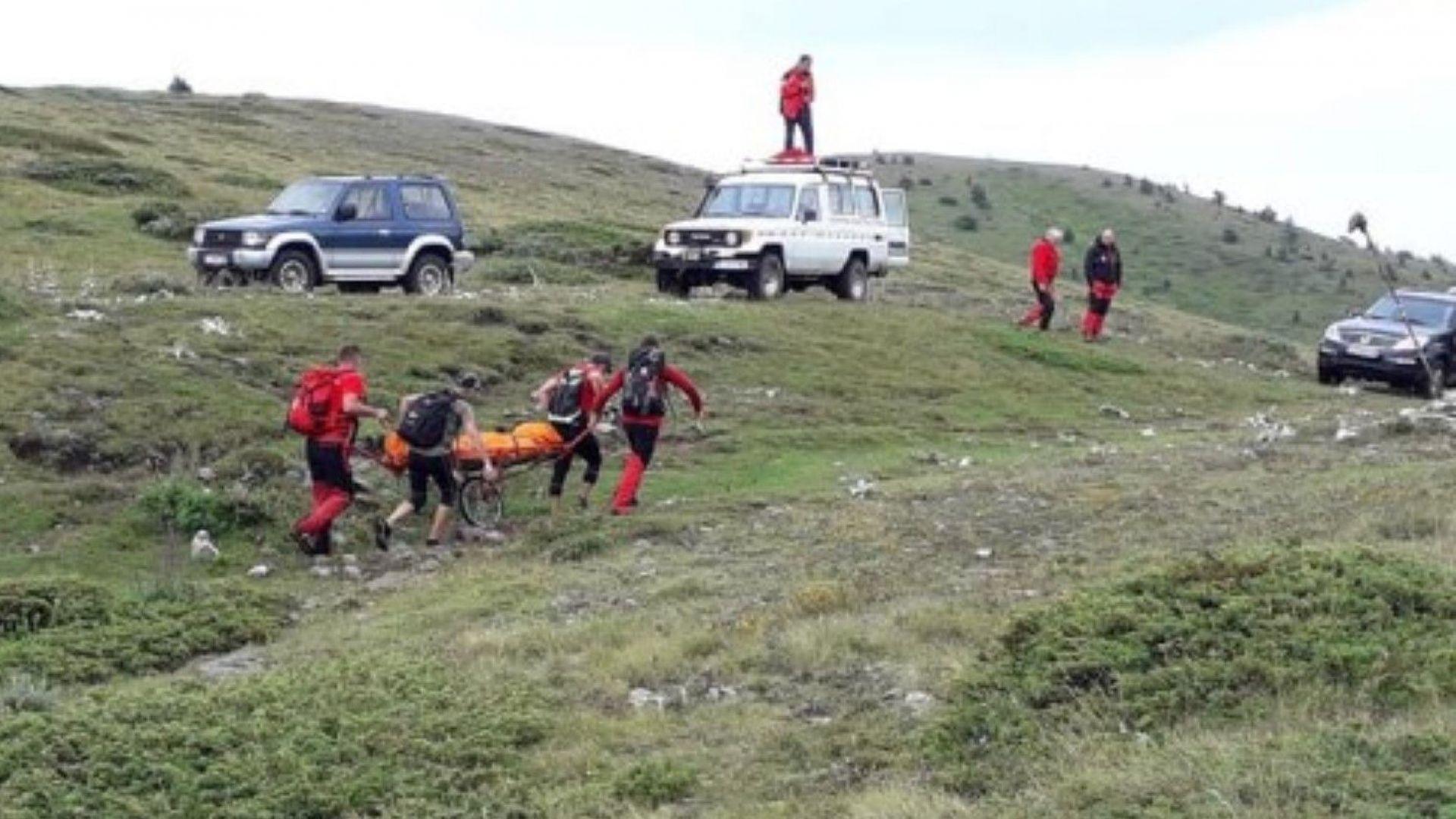 Убитият от мълния в Пирин моторист е бил на билото на планината по време на бурята