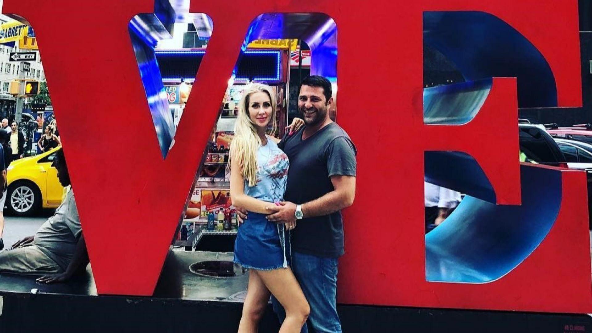 Антония и Ивайло пренесоха медения си месец в Ню Йорк