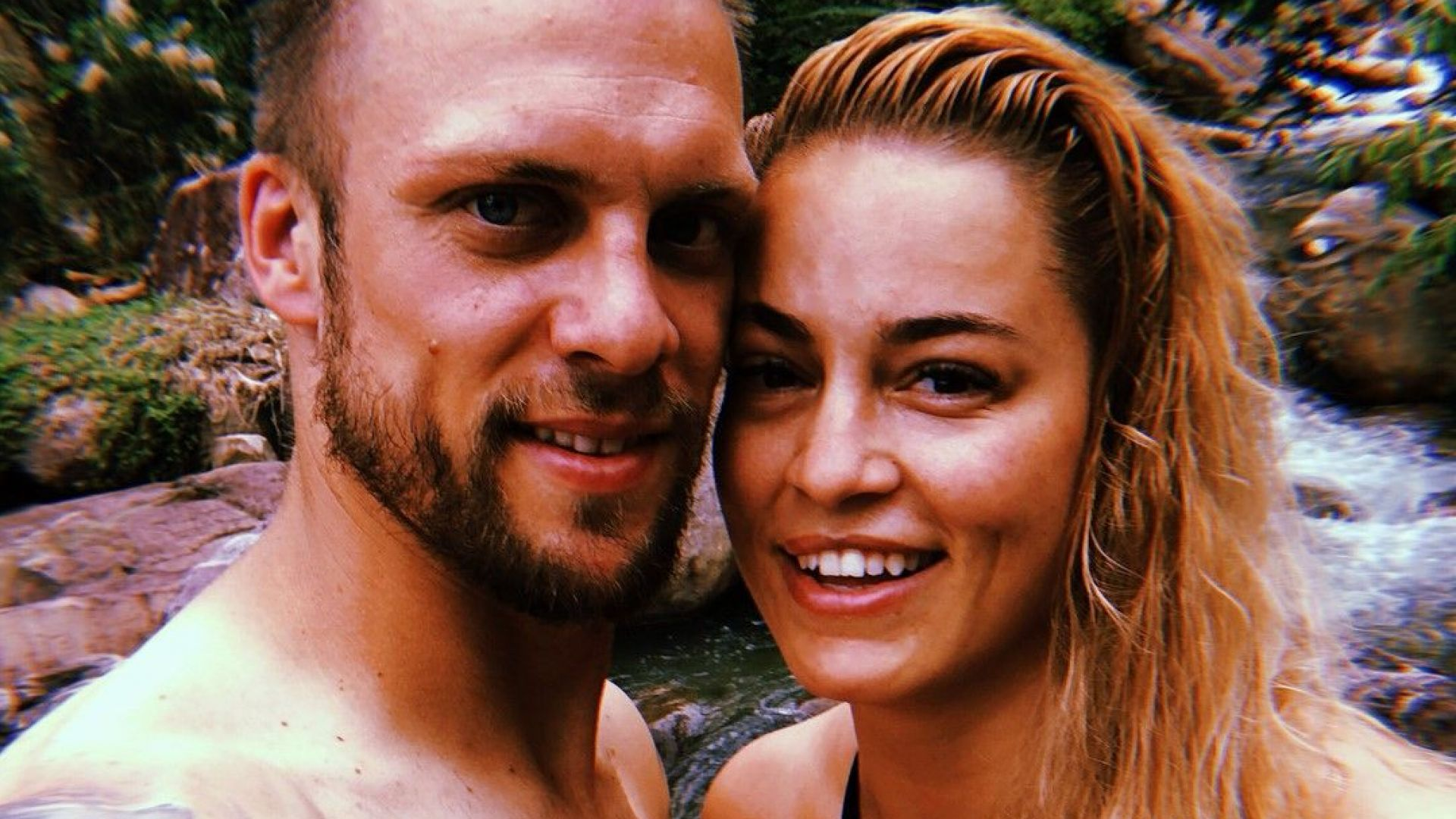 Евгения и Ваня Джаферович в Камбоджа, където той спечели Survivor