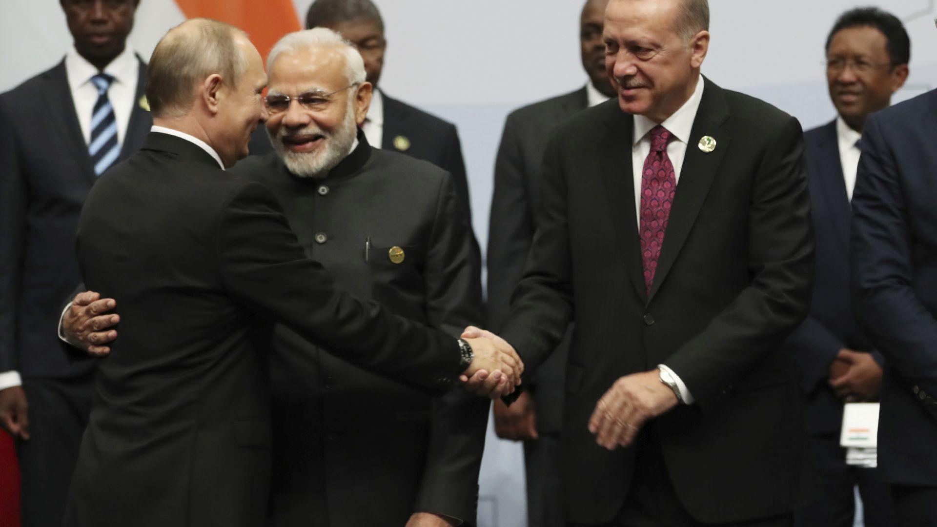 Ердоган иска Турция в БРИКС