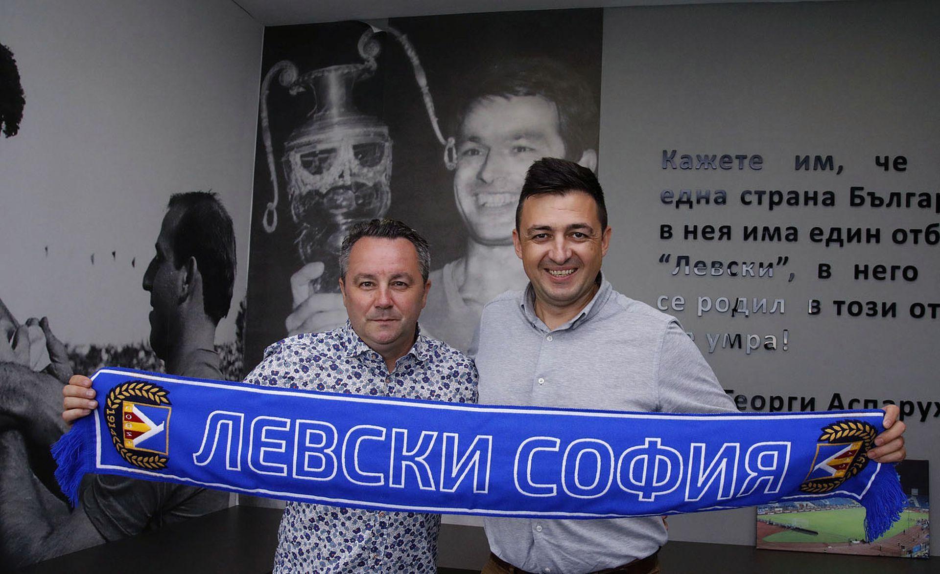 """Какво ще постигне Стоянович с """"Левски""""?"""