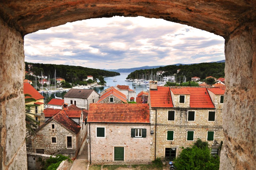 Остров Хвар в Хърватия